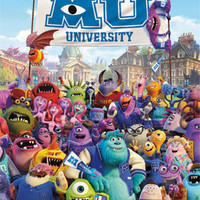 Monsters University – One Sheet Poster 22x34  RP5970 UPC017681059708