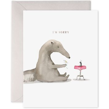 Anteater Sorry Card