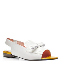 Embossed Leather Sandals by Carven - Moda Operandi