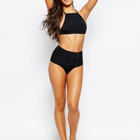Missguided Mix & Match Halter Neck Bikini Top at asos.com