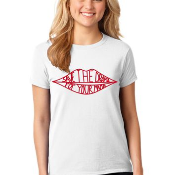Save the Drama For Your Mama T-shirt Like Worn In the TV Show Friends by Rachel