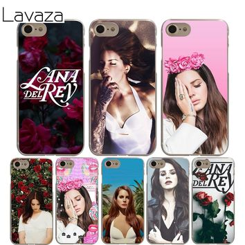 Lavaza lana del rey Cover Case for iPhone X 10 8 7 6 6S plus Cases for Apple 5 5S 5C SE 4 4S Coque Shell
