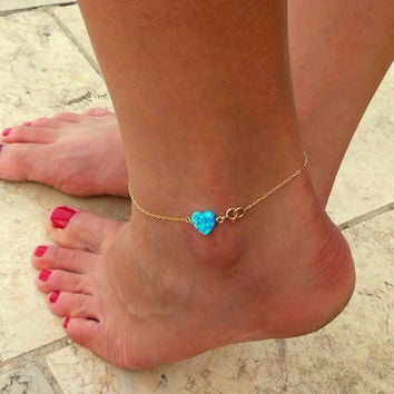 pin anklet pendant bracelet simple dainty gold rose