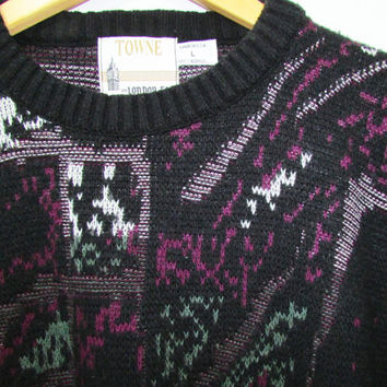Men's Vintage Sweater 90s London Fog L