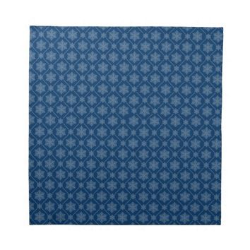 Snowflake Patter Custom Dinner Napkin Set (4)