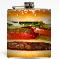 Cheeseburger - Burger Flask