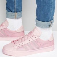 adidas Originals Court Vantage Trainers In Pink S76203