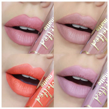 12 Colors New Too Hot Melted Matte Liquified Matte Long Wear Lipstick Lip Gloss Faced Child Star Queen B Sell Out Unicorn