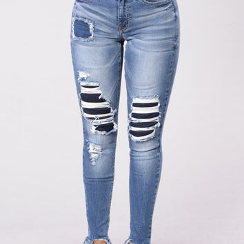 Blue Skies Jean - Medium Wash