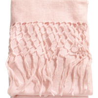 Fringed Throw - from H&M