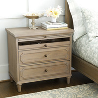 Isabella Large Nightstand with Charging Station | Ballard Designs