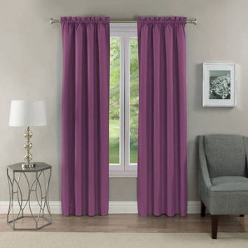 Room Darkening Thermal Blackout Grommet Window Curtain Panel