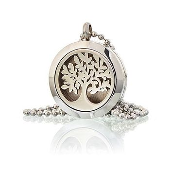 Aromatherapy Diffuser Necklace - various sizes & designs
