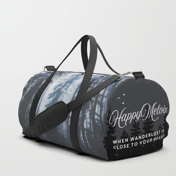 The mighty pines Duffle Bag by happymelvin