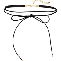 Choker Necklace with Bow - from H&M