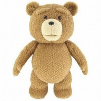"Ted 16"" Plush Figure with Sound & Moving Mouth"