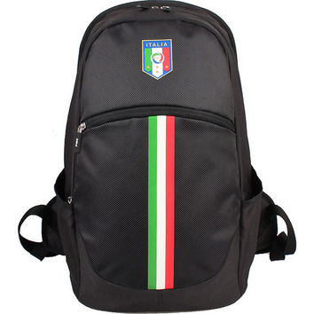Federazione Italiana Giuoco Calcio Backpack Vertical Stripe - eBags.com