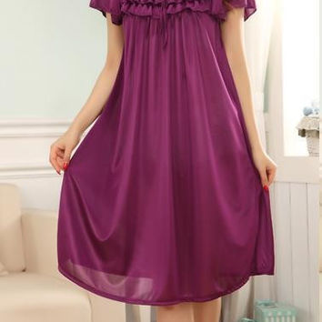 Viscose Nightgown