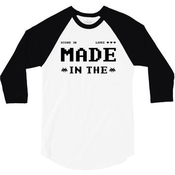 Made in the 80's 3/4 Sleeve Shirt