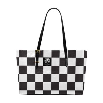 Black And White Large Tote Bag