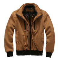 Mens Thick Zip-Up Jacket