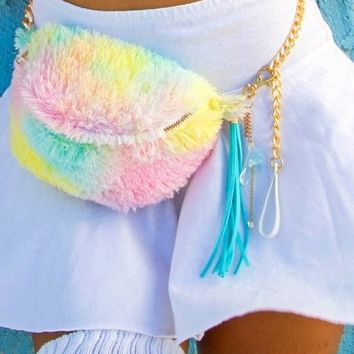 Imagination by JW- Cotton Candy Fanny Pack