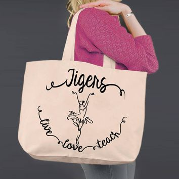 Dance Coach | Personalized Canvas Tote Bag
