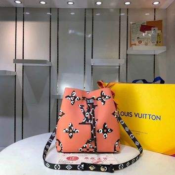 Fashion LV Louis Vuitton Women Leather monnogam Handbag Crossbody bags Shouldbag Bumbag