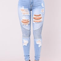 Oh These Jeans - Light Wash