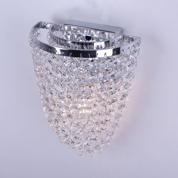Modern Crystal Wall Light Sconces Lamp Fixtures For Bedside Bathroom Mirror Light Wall Lights For Home Loft Style Lamp