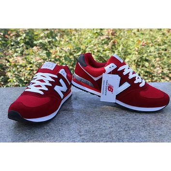 New Balance Sport Casual N Words Breathable Unisex Sneakers Couple Running Shoes-3