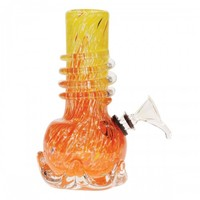 "Soft Glass Water Pipe Tom Danks 6"" – My 420 Store 