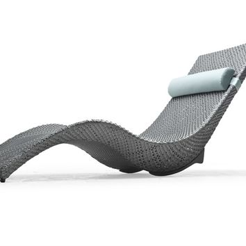 Recliner garden daybed Mermaid Collection by KENNETH COBONPUE | design Kenneth Cobonpue