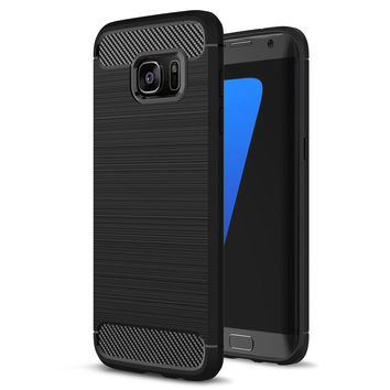 Soft TPU Silicon Case For Samsung Galaxy S7 S7 Edge Luxury Hybrid TPU Armor case For Samsung Galaxy S7 Edge Mobile Phone Cover
