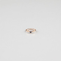 Full Tilt Vintage Stone Midi Ring Gold One Size For Women 24387162101