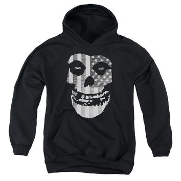 Misfits - Fiend Flag Youth Pull Over Hoodie