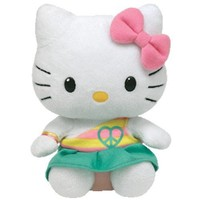 Ty Hello Kitty - Green Peace