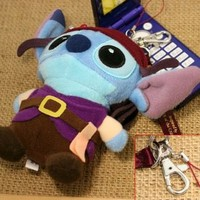 Stitch Pirates version 2WAY strap (japan import)