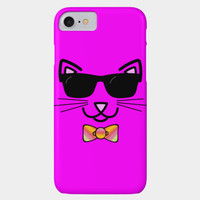 Cool Cat Wearing Sunglasses Phone Case By Gravityx9 Design By Humans