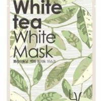 KOREAN COSMETICS, LG Household & Health Care_ LACVERT, White tea White Mask 10 sheets (Brightening, Whitening, skin tone highly concentrated essence) [001KR]