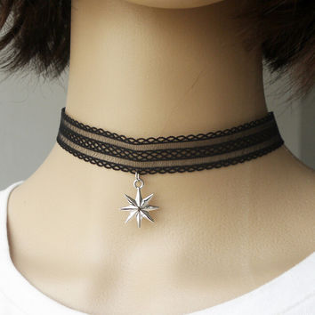 Velvet Choker Necklace for Women Girls Gothic Choker Tattoo Simple Fashion Choker Jewelry +Gift Box
