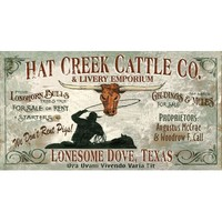 Red Horse Lonesome Dove Sign