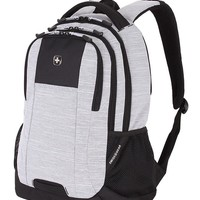 Swissgear 5505 Laptop Backpack - Light Gray Heather/Black