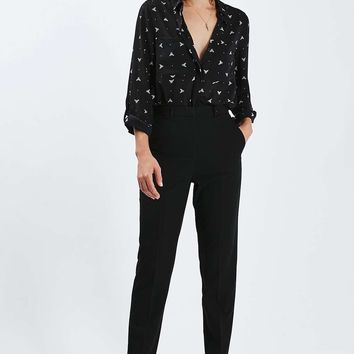 PETITE Tailored Cigarette Trousers | Topshop