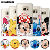 Soft Silicone TPU Case Cover for Samsung Galaxy S3 S4 S5 Mini S6 S7 S8 Edge Plus Colorful Painting Phone Back Protector