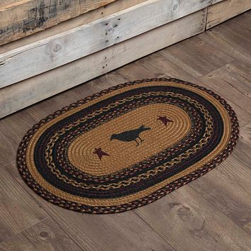 Heritage Farms Crow Oval Rug