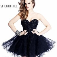 Sherri Hill 2750  Sherri Hill amandalinas specializing in bridal gowns, evening wear , prom dresses, mother of the bride and groom dresses,