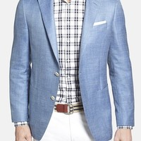 Men's Samuelsohn Classic Fit Wool Blend Blazer