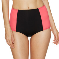 Color Block High Waist Bikini Bottom