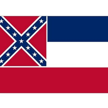 Mississippi State Flag New 3x5ft Indoor/Outdoor US State Flag Banner Flying Size No.4 150* 90cm United states flag